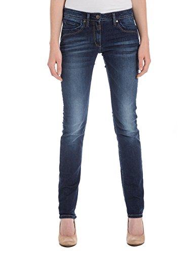 Timezone Textil - Jeans - Femme Bleu (Mission Wash 3698)