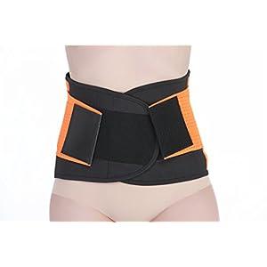 ZSZBACE Lower Back Lordosenstütze Gürtel Brace Sport oder Arbeit im Zusammenhang mit Schmerzen im unteren Rückenbereich – Bequeme Einstellbare Leichtbauweise geeignet für Männer und Frauen.