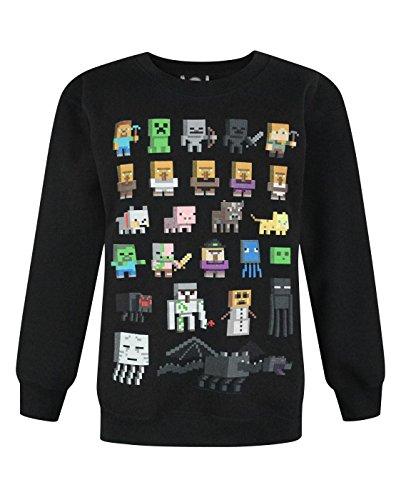 Jungen - Minecraft - Minecraft - Pullover (9-10 Jahre)