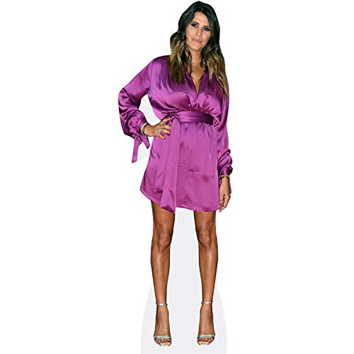 Celebrity Cutouts Karine Ferri (Purple Dress) Taille Mini