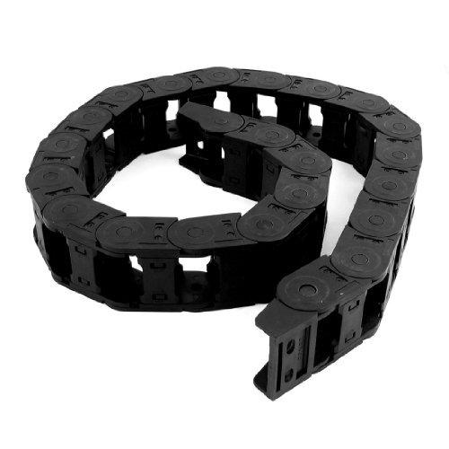 Noir 109 cm de longueur de câble de frein de chaîne de transport gigognes 25 mm x 38 mm