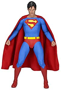 NECA Superman The Movie Superman Christopher Reeve Version 1/4 Scale Action Figurine