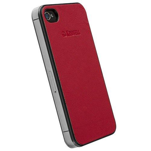 Krusell Donsö UnderCover für Apple iPhone 4S rot rot