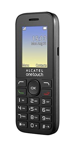 Alcatel-One-Touch-OT-10-16D-Cellulare-Dual-SIM-Volcano-Nero-Italia