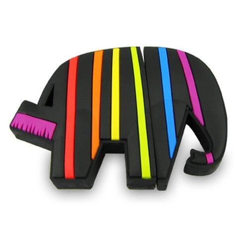 818-Shop No50200060336 Hi-Speed (USB 3.0 16GB) Speichersticks Lustiger Elefant Malen schwarz