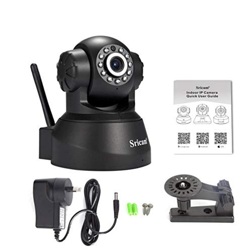 Sricam Wireless IP Webcam Camera Night Vision 11 LED WIFI Cam M-JPEG Video Mjpeg-video