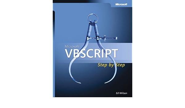 Buy Microsoft VBScript Step by Step (Step By Step (Microsoft