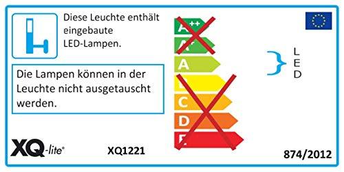 Ranex XQ1221 LED Fluter mit Bewegungsmelder 1x LED á 20 Watt, 1.200 Lumen / 120° x 8 Meter Erfassungsbereich / kalt weiß