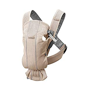 BABYBJÖRN Baby Carrier Mini, 3D Mesh, Pearly Pink   6
