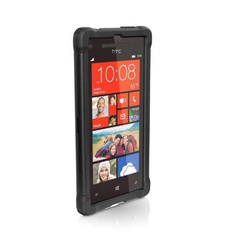 Ballistic BLSGM8XBK Shell Gel Maxx Schutzhülle für HTC 8X
