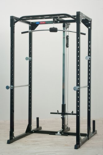 Functional Power Rack newfitness® NE770A mit Latzugstation