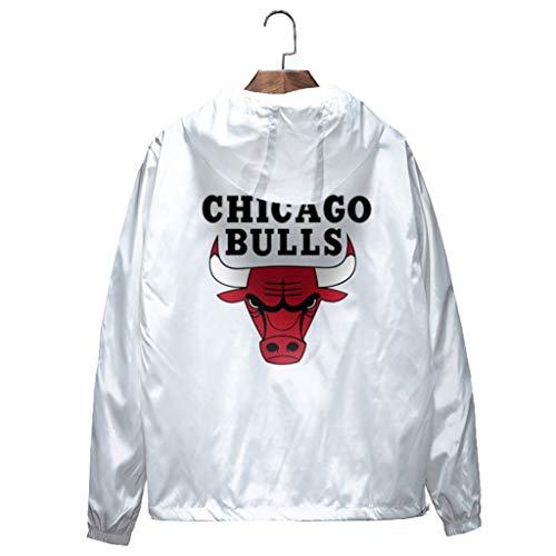 l Jordan Zip up Hoodies Kapuzenober, Hoodie für Herren Zipper Jacket Hoodies Sweatshirts, Männer Basketball Sport Breathable Kapuzen jacke ()