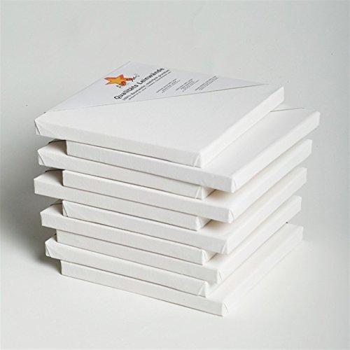 1-art-star-tela-montata-su-telaio-malfertig-grundiert-economico-nel-prezzo-20-x-20-cm