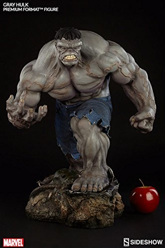 Marvel Grey Hulk Premium Format Figure By Incredible Hulk Picture