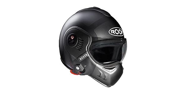 Roof Boxer V8 Bond Helm Größe M Titan Mattgrau Motorrad