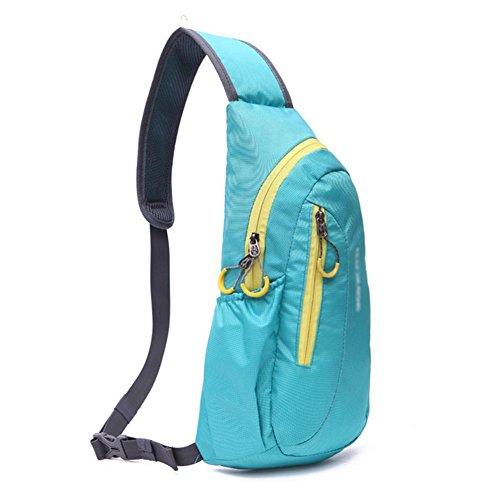 Männer und Frauen mit großer Kapazität Outdoor-Kletter Paket days blue