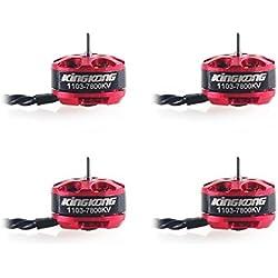 FancyWhoop 4pcs Kingkong 1103 7800KV motores sin escobillas para Kingkong Q90 Micro FPV Racing Drone Mini Quadcopter Multirotors