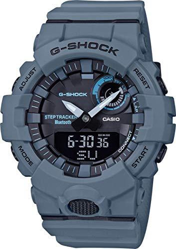 Casio Herren Analog-Digital Quarz Uhr mit Plastik Armband GBA-800UC-2AER
