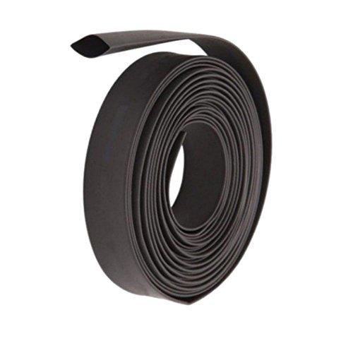 Wilkinson.Sales Noir Gaine 10mm (1 Meter) Thermorétractable Tube Électrique Wrap Manchon Câble De Voiture 2: 1 Ratio, Automobile