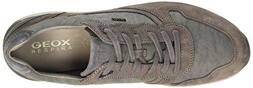 Geox U Jepson E, Low-Top Chaussures homme Jaune (Mud/Grey)
