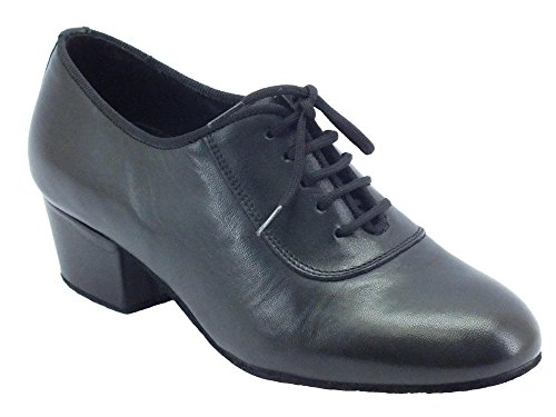 Scarpa da ballo per allenamento da donna nera tacco 40 (Taglia 37)