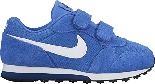 Nike Jungen Md Runner 2 (Psv) Turnschuhe blau - weiß