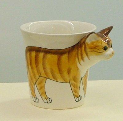 Ginger Tom Orange Tabby Cat Mug