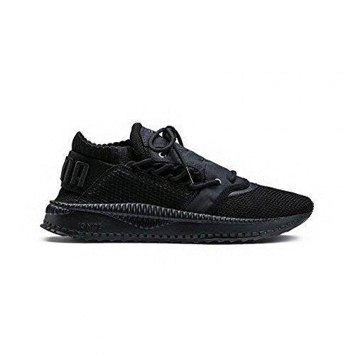 Puma Tsugi Shinsei Raw Chaussures pour Hommes en Tissu élastique Noir Monochrome 363758-01