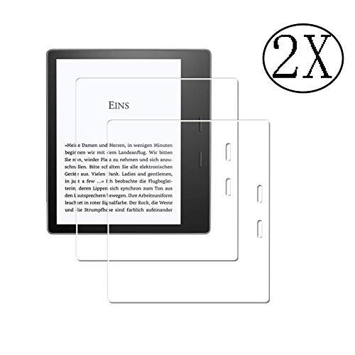 JHTC 2X Panzerglas Schutzfolie fürAmazon Kindle Oasis 7.0