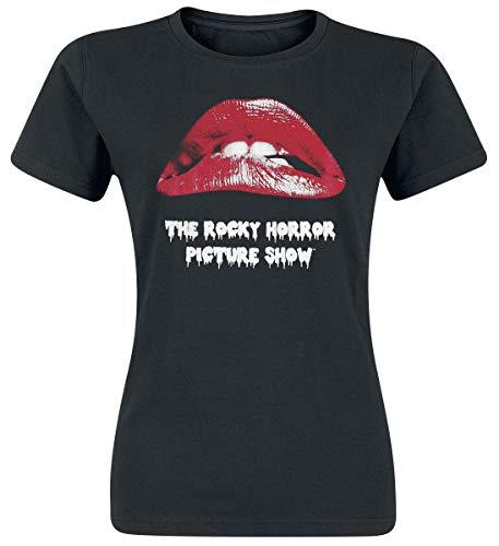 The Rocky Horror Picture Show Lips T-Shirt schwarz XL
