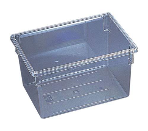 Camwear Food-box (Cambro 182612CW135 Aufbewahrungsbox für Lebensmittel, Polycarbonat, transparent, 45,7 x 66 x 30,5 cm)