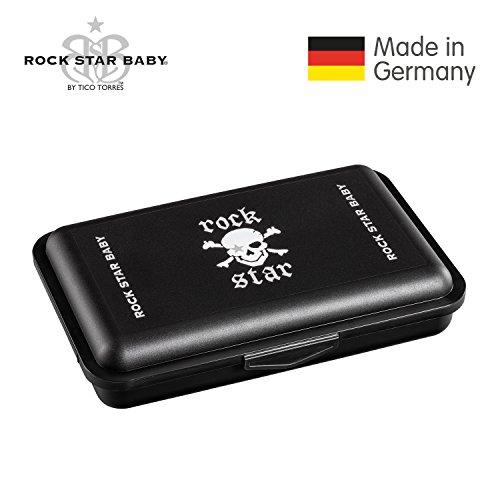 ROCK STAR BABY® by Tico Torres Brotdose - Lunchbox - Pirat, schwarz (Piraten-lunch-box)
