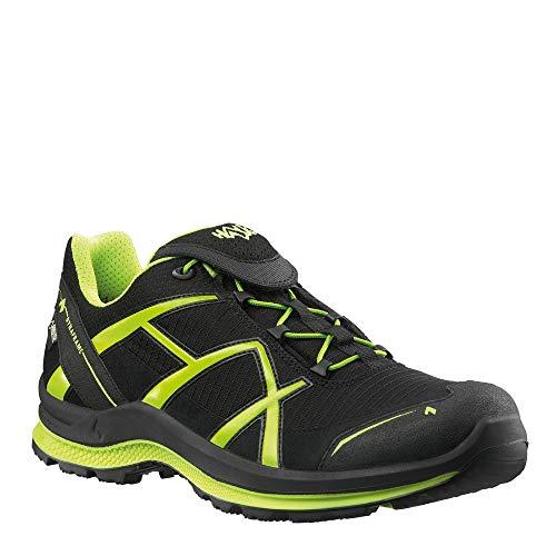Haix Black Eagle Adventure 2.0 GTX Low/Black-Citrus Stabile Schuhe für Sport und Freizeit. 41 -