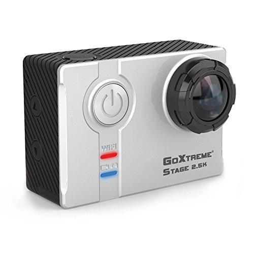easypix GoXtreme Stage 2.5K Ultra HD Stereo Cam 4MP WLAN 74g Kamera für Sportkamera
