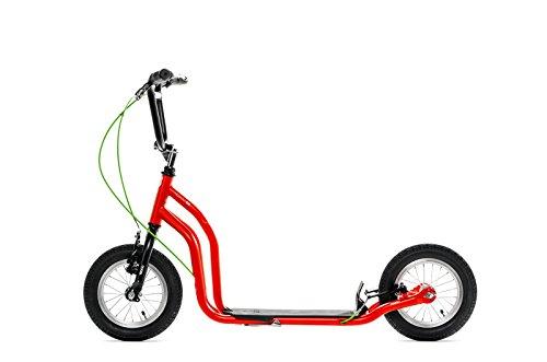 Yedoo Ox Monopattino - Scooter - New Model 2014 (Rossa - Nero)