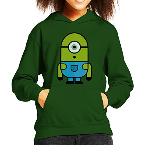 zovsky Despicable Me Monsters Inc Kid's Hooded Sweatshirt (Monster Inc Sweatshirt)