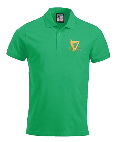 Hibernian 1900s Football Polo Sizes S-XXXL Embroidered Logo