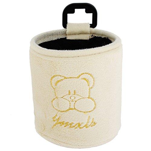 Auto-Beige Brown Bear Print-Plüsch-Handy MP3-Beutel-Halter-Kasten (Plüsch-handy-halter)