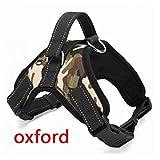 Stale Haustier Produkte Für Große Hundegeschirr K9 Leuchtende LED Kragen Welpen Führen Haustiere Weste Hundeleinen Zubehör Chihuahua Camouflage Oxford S