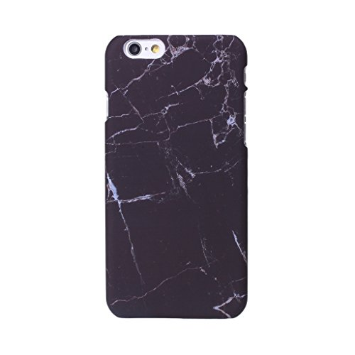 coque-cover-iphone-7-ijia-ultra-mince-motif-coreen-marbre-naturel-noir-pc-plastique-dur-hard-bumper-