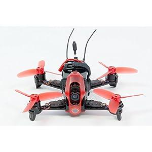 Walkera 15004100–FPV Racing de cuadricóptero Rodeo 110RTF–FPV de dron con cámara HD, batería, Cargador y Control Remoto Devo 7