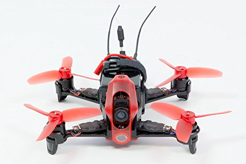 Walkera 15004100 - FPV Racing-Quadrocopter Rodeo 110 RTF - FPV-Drohne mit HD-Kamera, Akku, Ladegerät und Devo 7 Fernsteuerung - 3