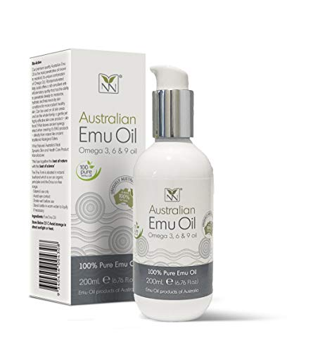 Extra Large Emu Oil | 100% Pure Australian Emu Oil - 6.8 oz Bottle | Luxury, Hospital Grade - The Ultimate Moisturizer for Skin, Hair, Nails, and Scalp - 300% More Oil! by Y Not Natural (Oil Natural Bath)