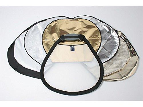 Lastolite Triflip Mini Kit 8:1 45,7 cm (18 Zoll) Diffuser Aufheller mit 7 Oberlächen - Aufheller-kit