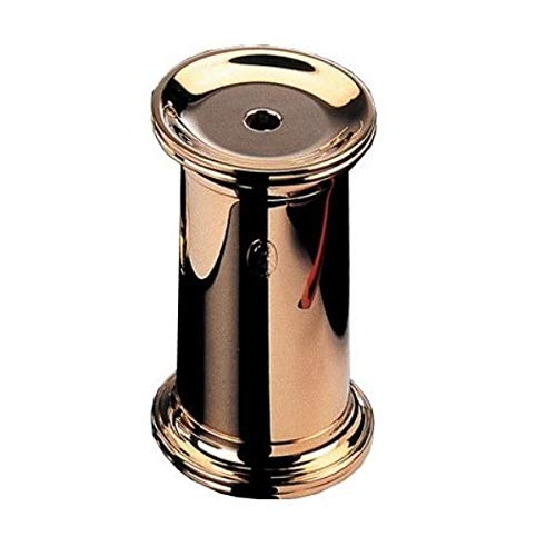 Zylinderspitzer - Schwarz & 23-Karat vergoldet
