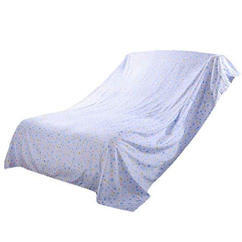 Zelte Möbel Staubschutz Dush Sheets Staubtuch Sofa Cover Cloth Möbel Asche Tuch Staub Bettbezug Home, blau, mehrere Größen (Size : 5×4.8m) - Asche-möbel