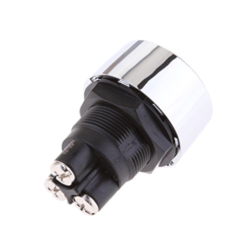 Gazechimp Poussoir Bouton Illuminé Rouge LED Starter Commutateur Démarrage de Moteur Pour Auto