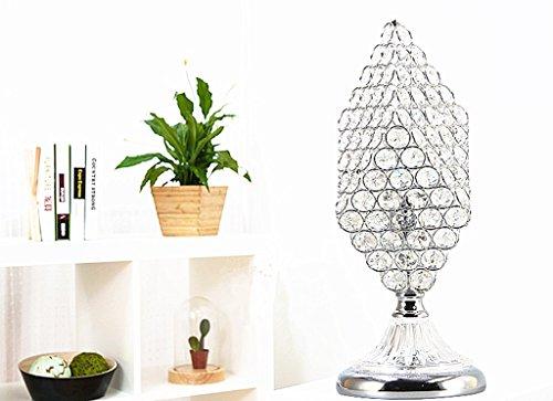 Lampe De Table En Cristal, Lampe De Chevet Minimaliste Moderne Chambre Lampe De Nuit Lampe De Table Intérieure LED Lampe En Cristal (Color : B)