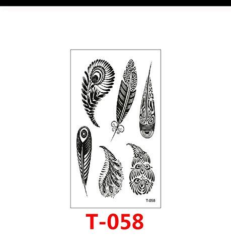 LFVGUIOP Wasserdicht Temporäre Tätowierung Aufkleber Moon Hill Forest Star Gefälschte Tatto Flash Tattoo Body Art Hand Fuß Für Mädchen Frauen Männer c pcs 3 (Hill Forest Halloween)