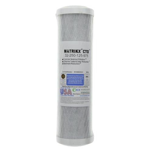 KX Matrikx 32-250-125-975 blocco di carbonio, Filtro per acqua